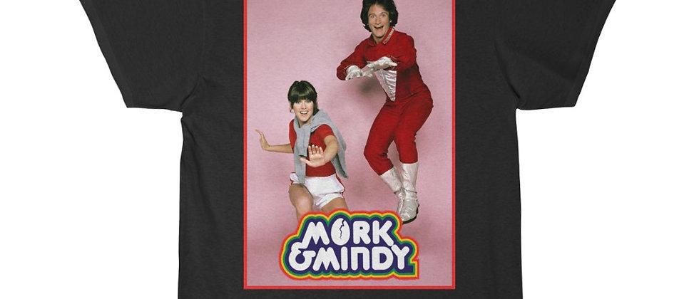 Mork and Mindy Robin Williams  Men's Short Sleeve Tee