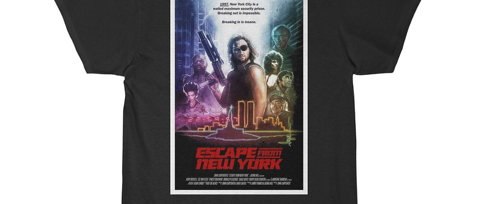 Escape From New York Movie Poster 2 Short Sleeve Tee