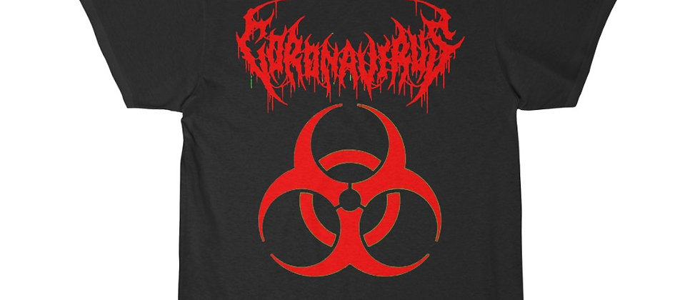 What if the Corona Virus was a Death METAL BAND  Short Sleeve Tee