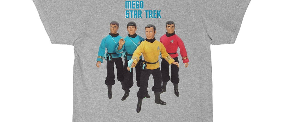 STAR TREK mego action figures Short Sleeve Tee