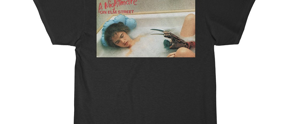 A Nightmare On Elm Street Nancy in the Tub With Freddy Short Sleeve Tee