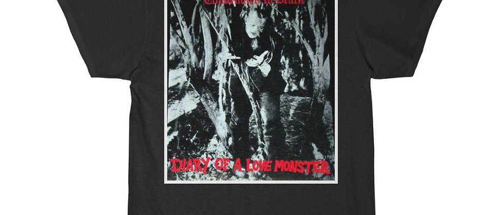Condemned To Death Diary of A Love Monster cover Special 2 sidedShort Sleeve Tee
