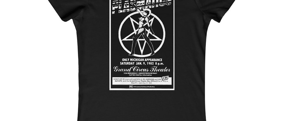 Plasmatics Flyer from Grand Circus Theater Wendy O Williams Women's Favorite Tee