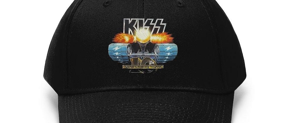 KISS Tank 10th anniversary Unisex Twill Hat