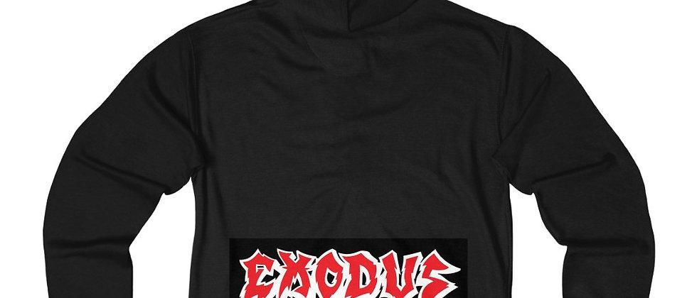 EXODUS Unisex French Terry Zip Hoodie