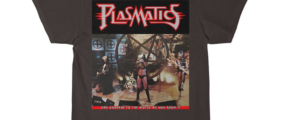 PLASMATICS LIVE1983 Men's Short Sleeve T Shirt