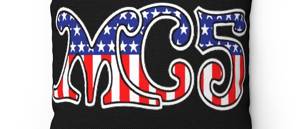 The MC5 Polyester Square Pillow