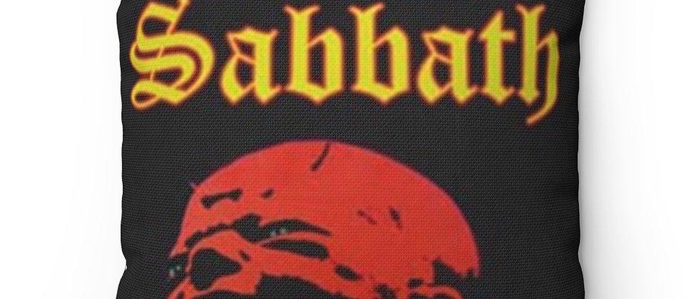 BLACK SABBATH Born Again Blk Spun Polyester Square Pillow gift