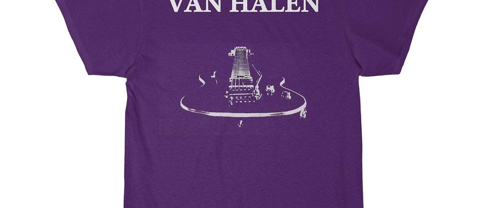 VAN HALEN Guitar On Fire 2 sided Men's Short Sleeve Tee