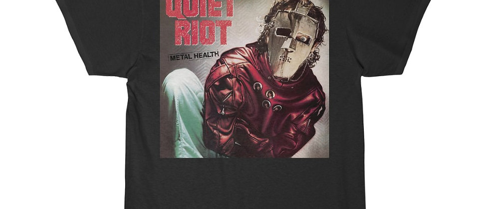 QUIET RIOT HEAVY MENTAL, HEAVY METAL, T SHIRT, ROCK T SHIRT, HEAVY METAL SHIRT