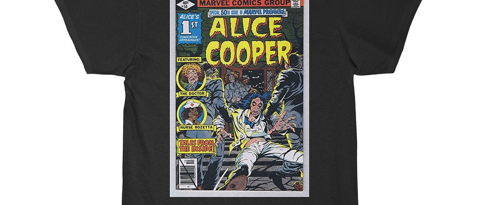 ALICE COOPER, FROM THE INSIDE, T SHIRT, HEAVY METAL,