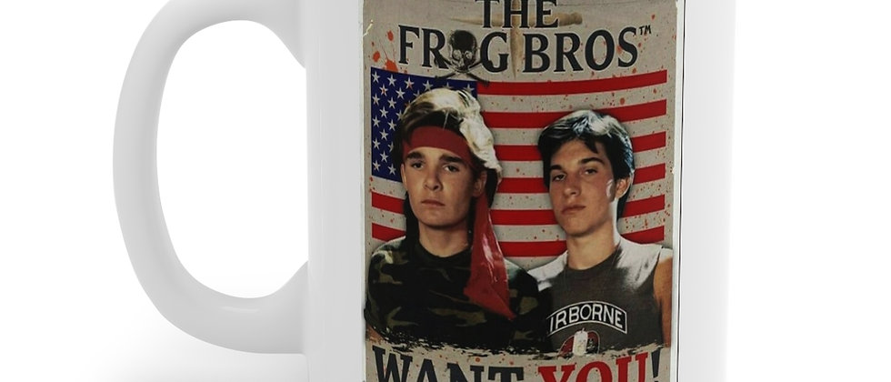 The Frog Bros from The Lost Boys Mug 11oz