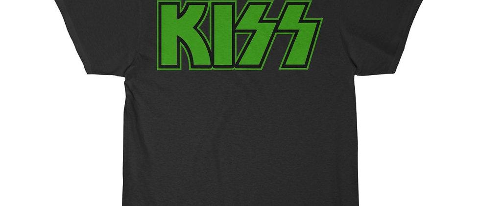 KISS Logo green Short Sleeve Tee