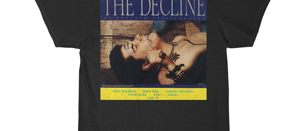 The Decline Of Western Civilization pt1 Special 2 sided Short Sleeve Tee