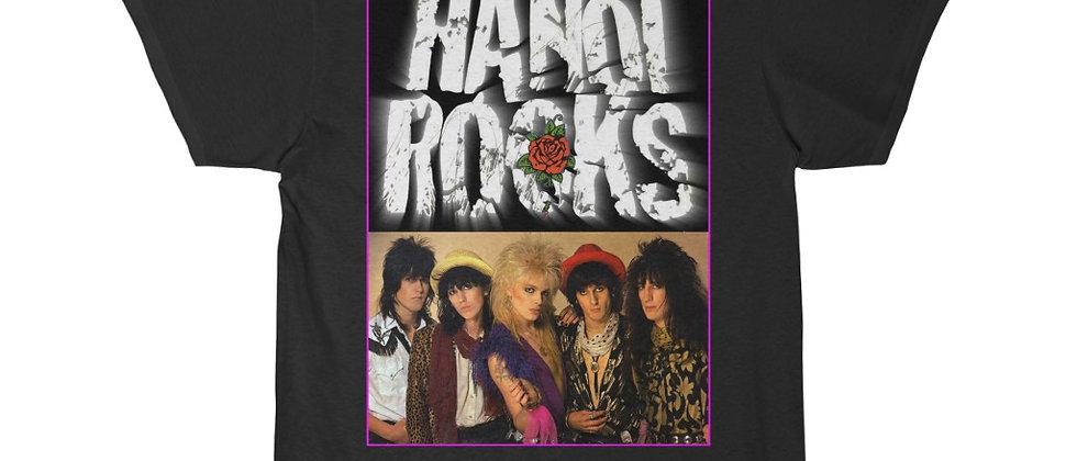 Hanoi Rocks Red Rose Short Sleeve Tee