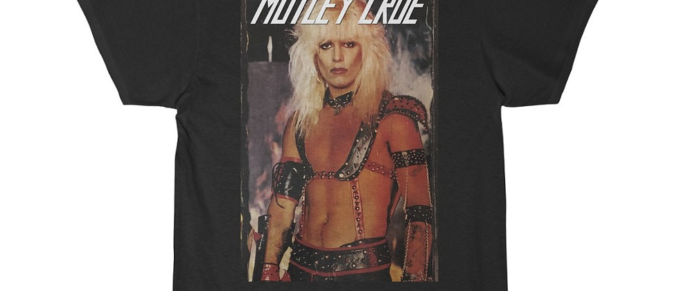 Motley Crue Vince Neil Shout At The Devil Short Sleeve Tee