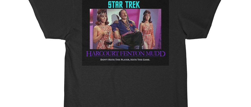 Star Trek Harry Mud Don't hate The Player Men's Short Sleeve Tee