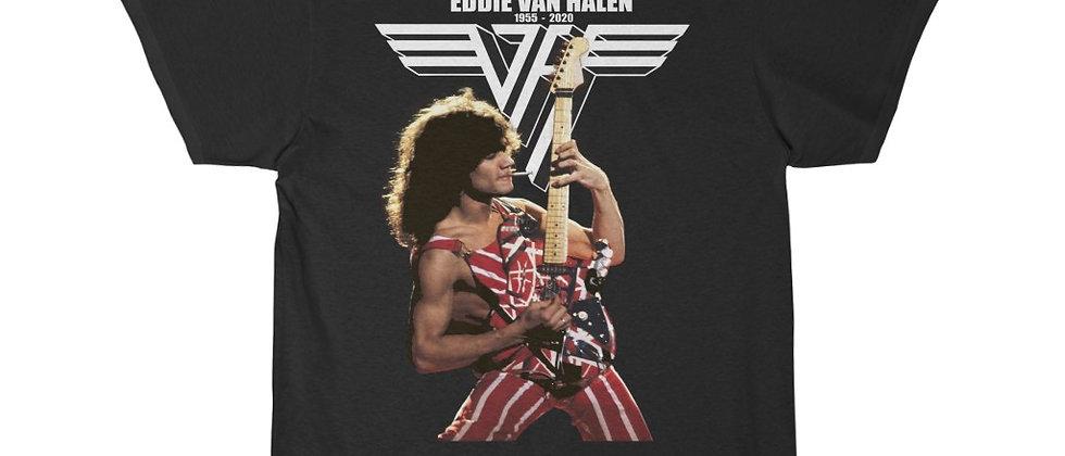 Eddie Van Halen 1955 - 2020  Men's Short Sleeve Tee