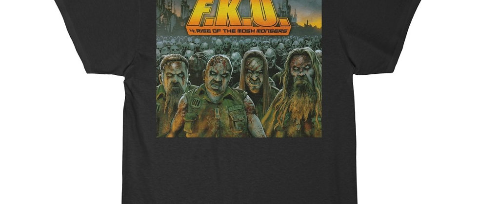 F.K.U. Rise of the Mosh Monsters  cover Short Sleeve Tee