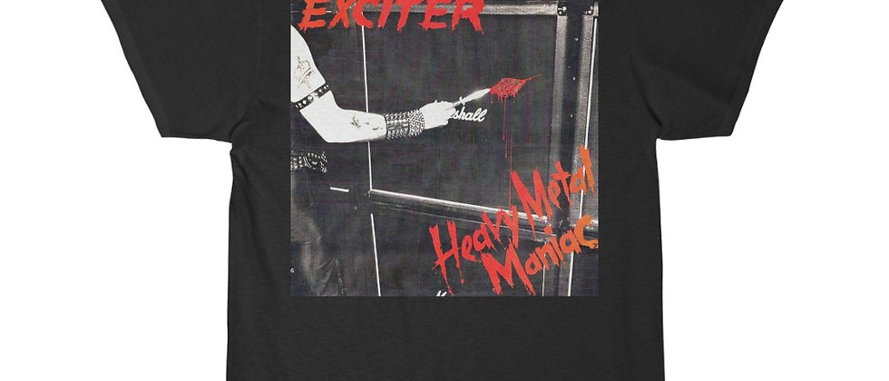 EXCITER Heavy Metal Maniac Men's Short Sleeve T Shirt