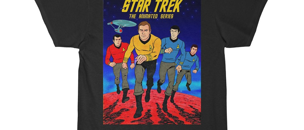 STAR TREK The Animated Series Men's Short Sleeve T Shirt