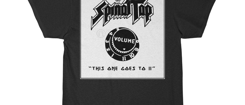 """Spinal Tap, """"This one goes to 11"""" Men's Short Sleeve Tee"""