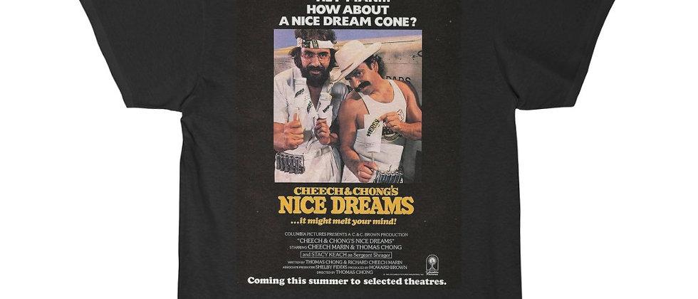 CHEECH and CHONG Nice Dreams poster Short Sleeve Tee