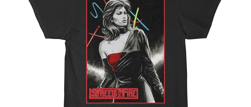 Streets of Fire Ellen Aim Short Sleeve Tee