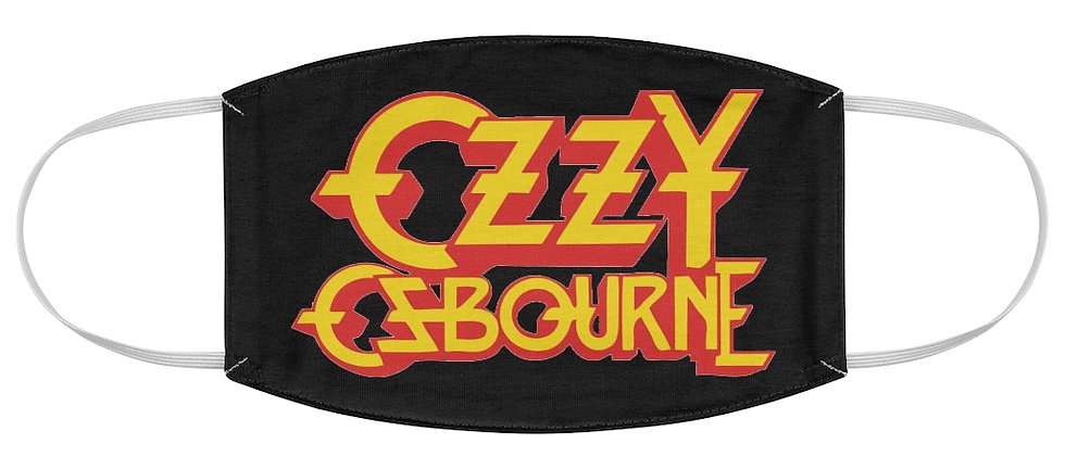 Ozzy Osbourne Fabric Face Mask