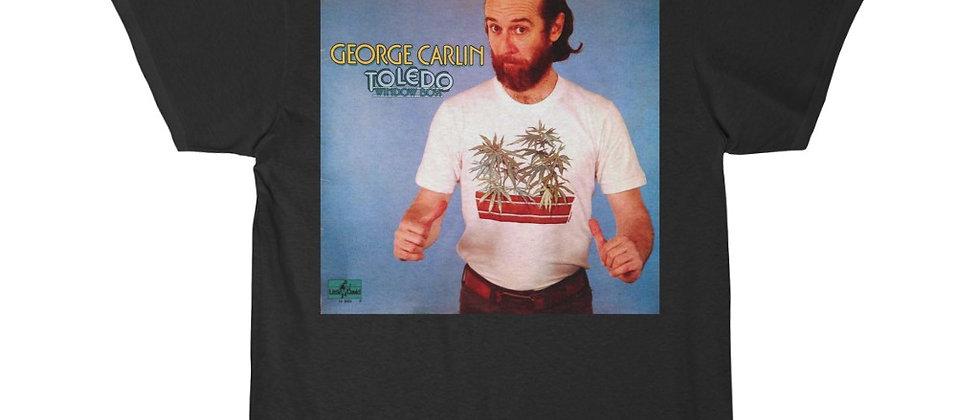 George Carlin Toledo Window Box Men's Short Sleeve Tee