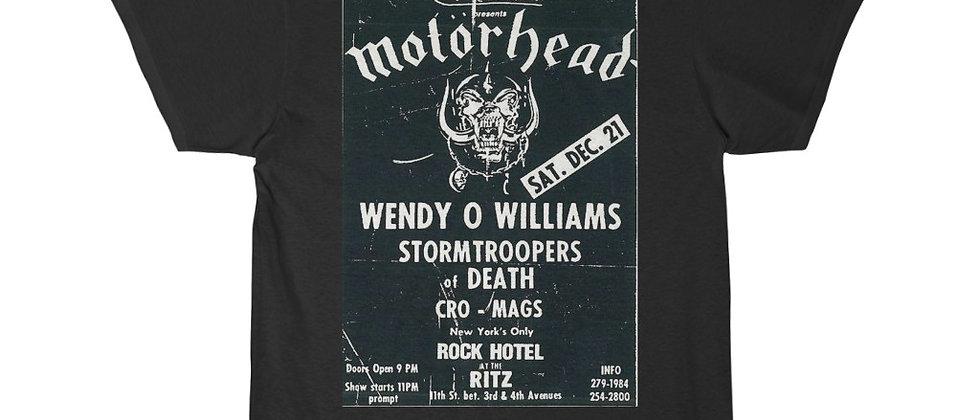 MOTORHEAD WOW Poster for the Ritz Men's Short Sleeve T Shirt