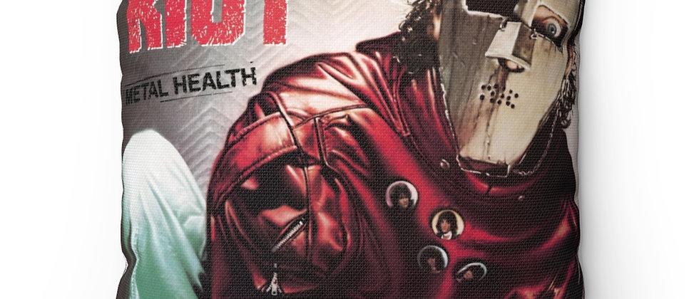 QUEIT RIOT METAL HEALTH, HEAVY METAL, PILLOW