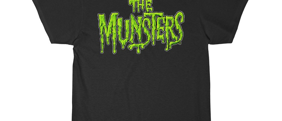 The Munsters logo in color Short Sleeve Tee