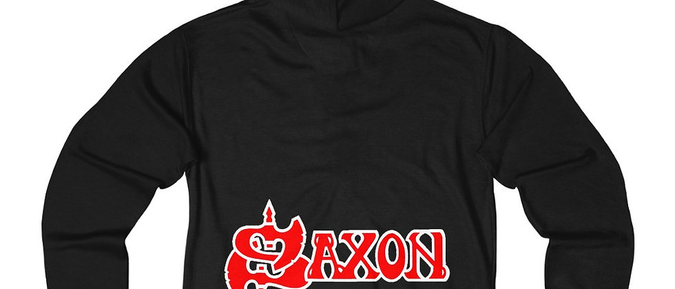 SAXON Unisex French Terry Zip Hoodie