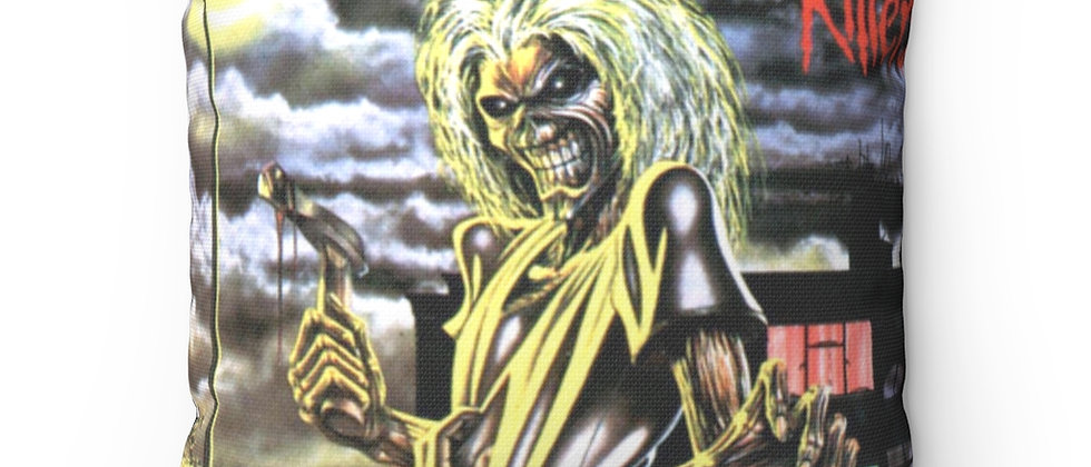 IRON MAIDEN Killers Spun Polyester Square Pillow gift
