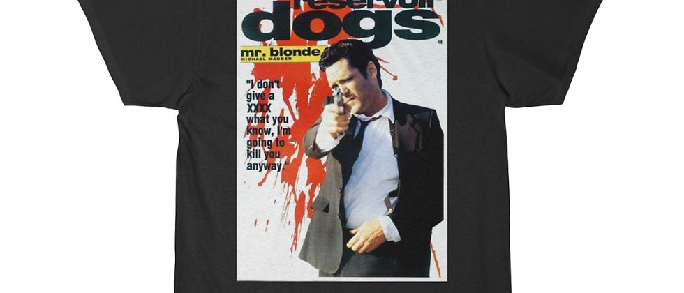 Reservoir Dogs Mr. Blonde Movie Poster  Short Sleeve Tee