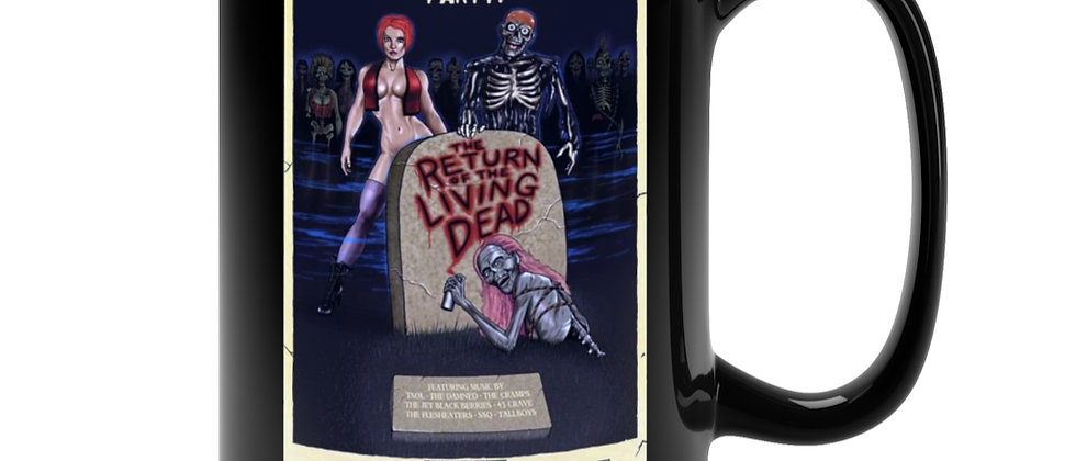 Return Of The Living Dead Poster 2 Black Mug 15oz