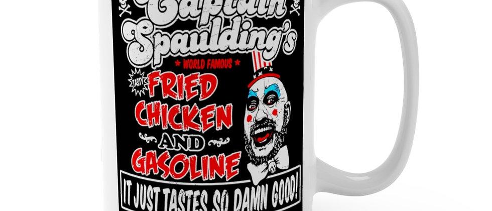 Captain Spaulding's Fried Chicken n Gasoline Mug 15oz