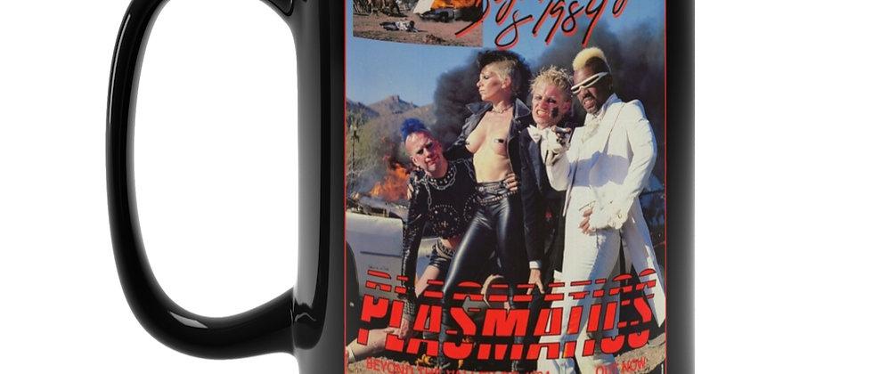 Plasmatics Beyond the valley of 1984 poster  Black Mug 15oz