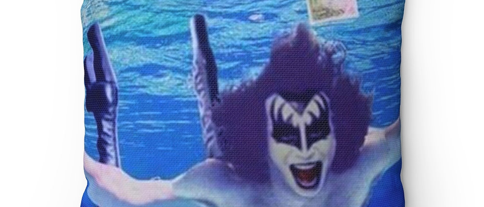 KISS, PILLOW, GENE SIMMONS, NIRVANA, NEVERMIND, PARODY