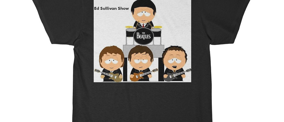 BEATLES South Park Ed Sullivan Show Short Sleeve Tee