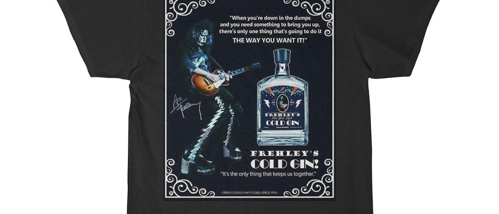KISS, PAUL STANLEY, COLD GIN, T SHIRT, GENE SIMMONS, ACE FREHLEY, PETER CRISS, END OF THE ROAD
