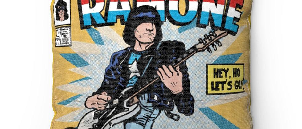 The Amazing Ramones Johnny Ramone Pillow Spun Polyester Square Pillow gift