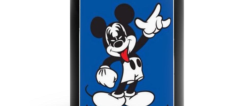 KISS FAN Mickey Mouse Black mug 11oz