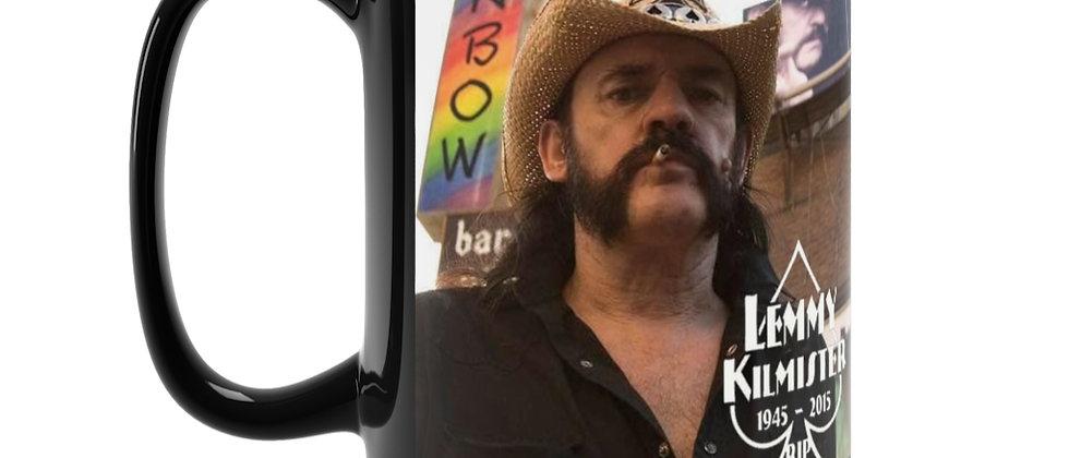 Motorhead Lemmy  Black Mug 15oz