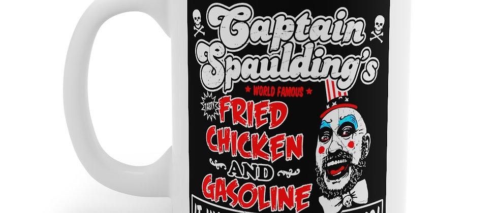 Captain Spaulding's Chicken and Gasoline Mug 11oz