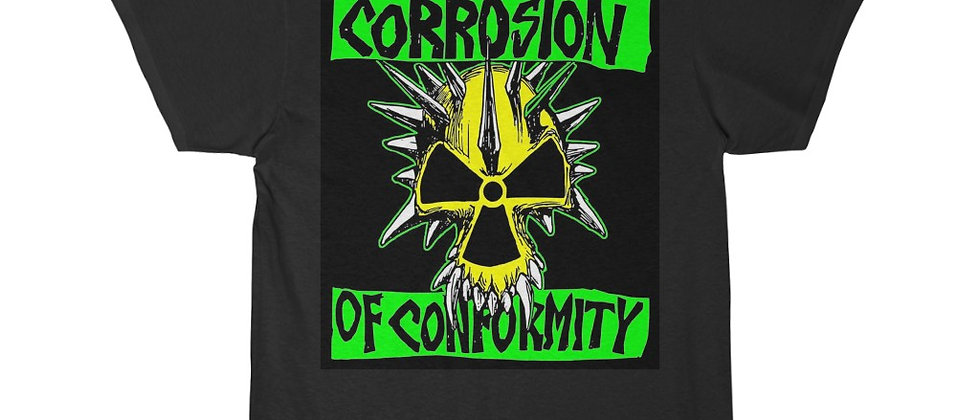Corrosion Of Conformity green yellow Short Sleeve Tee