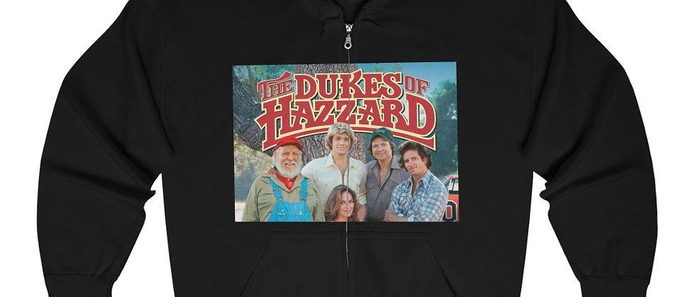DUKES OF HAZZARD Unisex Heavy Blend™ Full Zip Hooded Sweatshirt