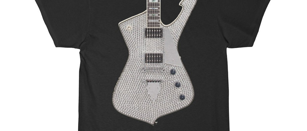 KISS Paul Stanley Ibanez PS-10 Rinestone Iceman Guitar Short Sleeve Tee