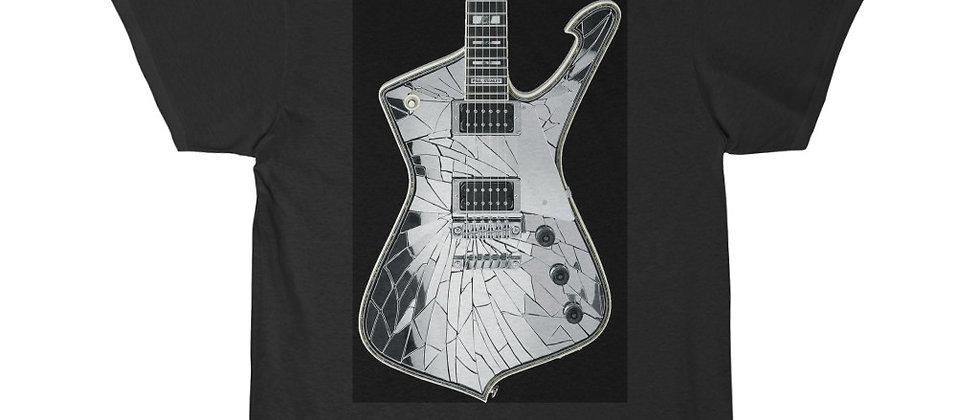 KISS Paul Stanley Ibanez PS-10 Iceman Mirrorball Guitar Short Sleeve Tee